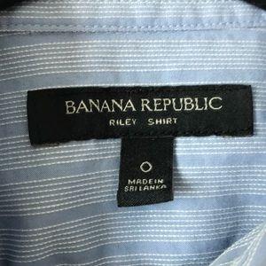 Banana Republic Tops - Banana Republic ruffle shirt